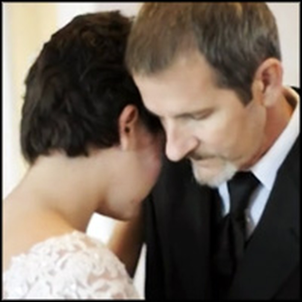Father Dances with His Daughter from the Grave on Her Wedding Day