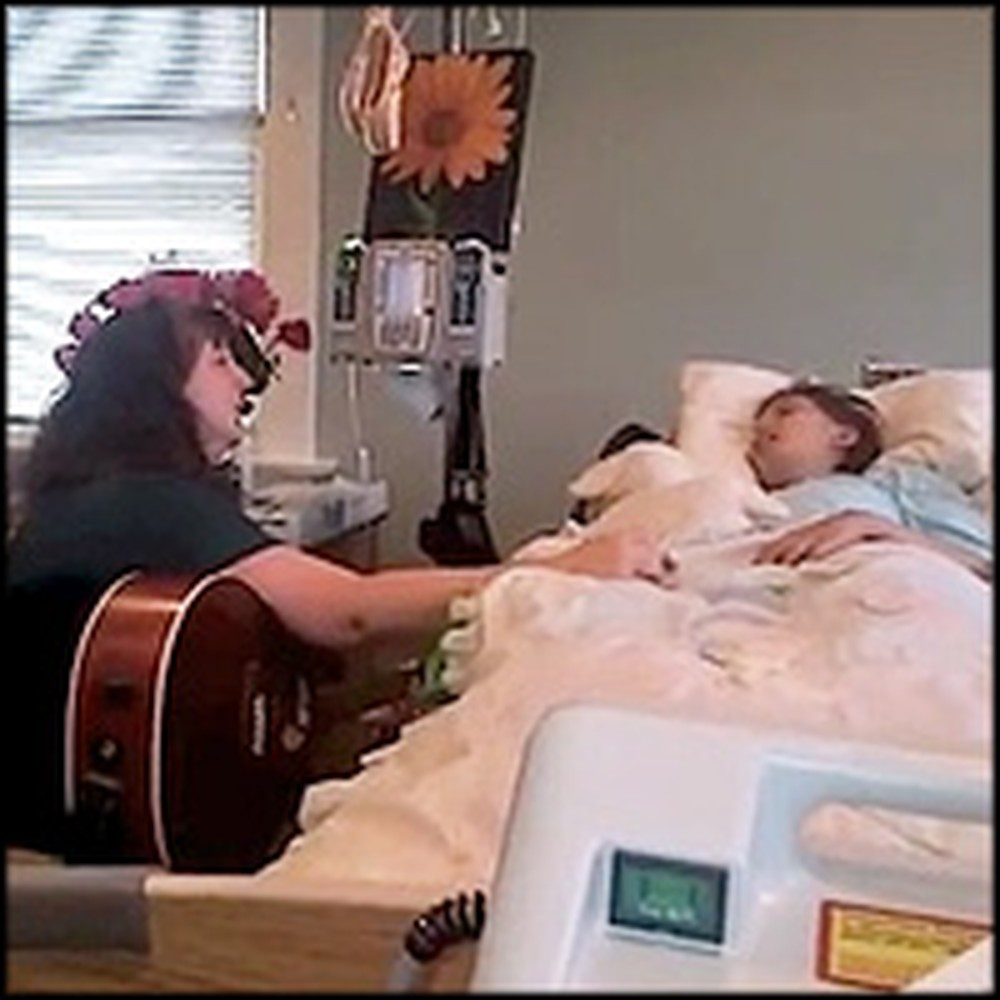 Mother Sings a Precious Song to Her Dying Daughter