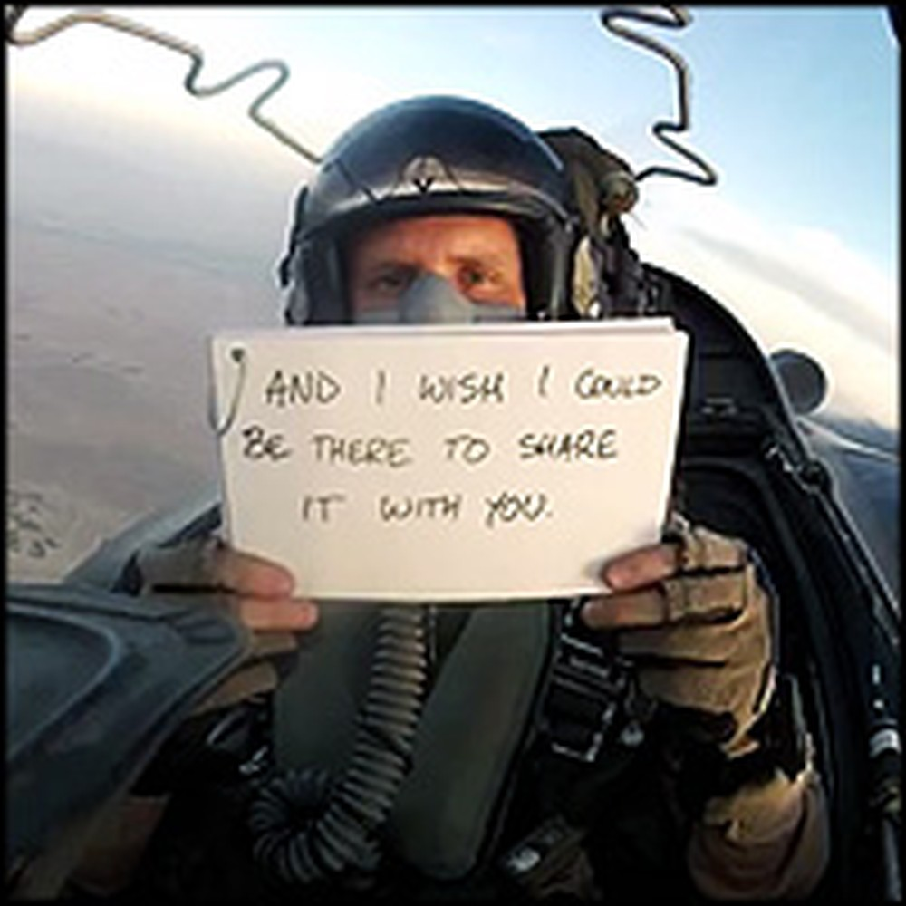Deployed U.S. Airman's Touching Wedding Message to His Brother