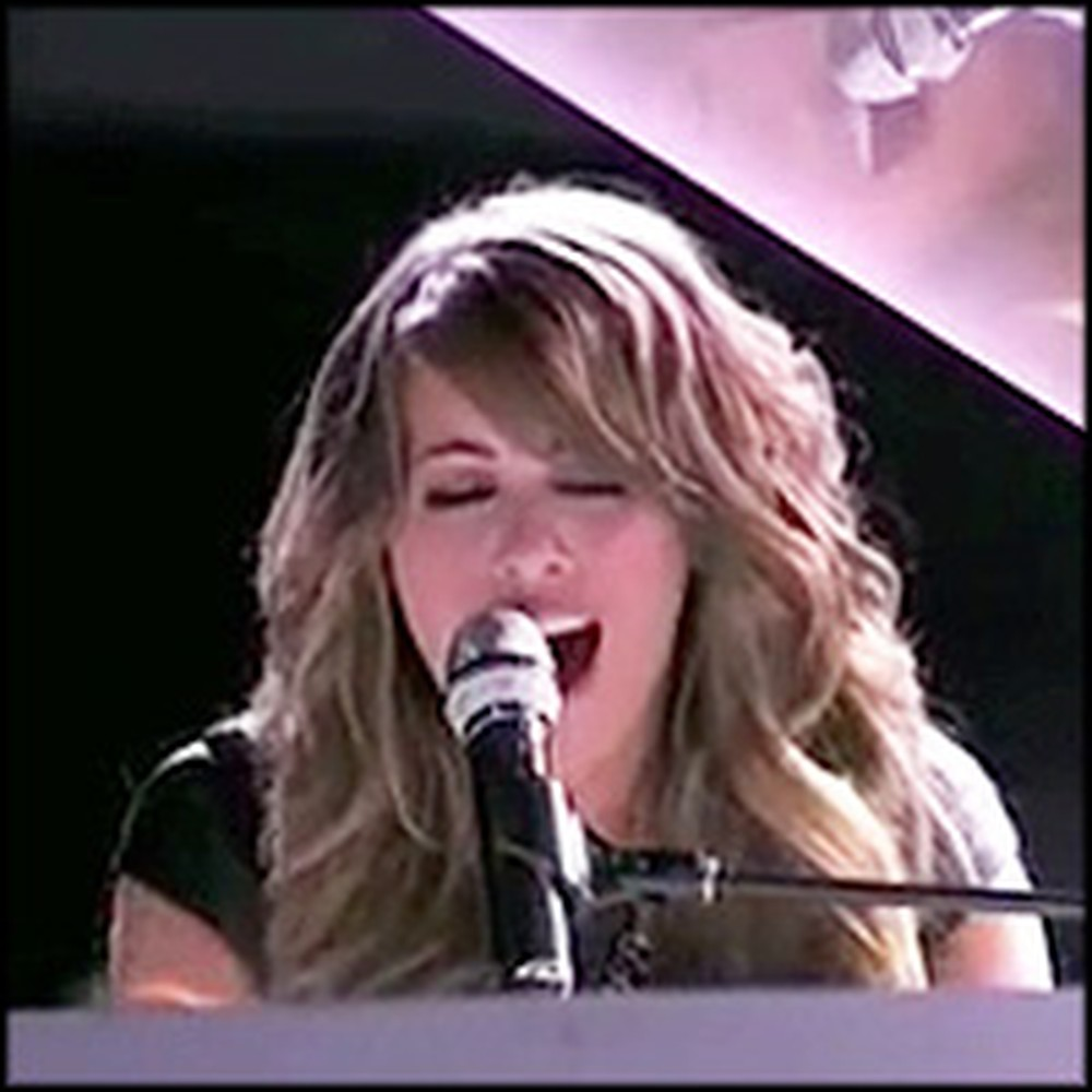 Angie Miller's Anointed Performance of a Kari Jobe Song on American Idol