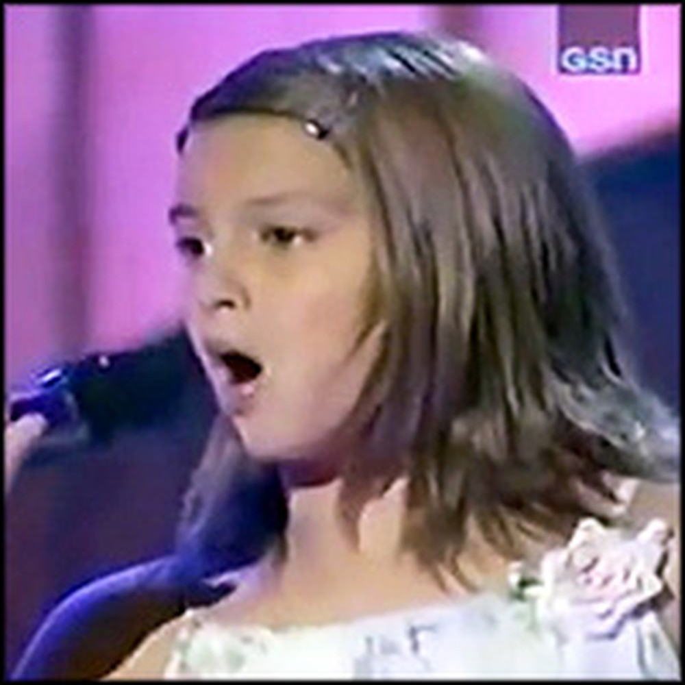 10 Year-Old Sings a Fantastic Version of Blessed on Star Search