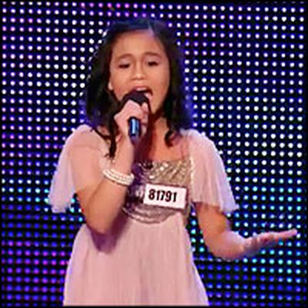Unbelievable Child Sings Like a Professional - and Gets a Standing Ovation!