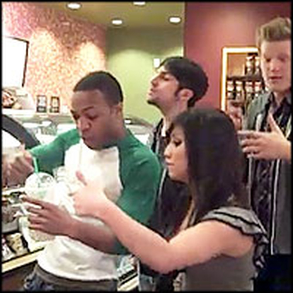 Greatest Starbucks Order Ever Caught on Tape