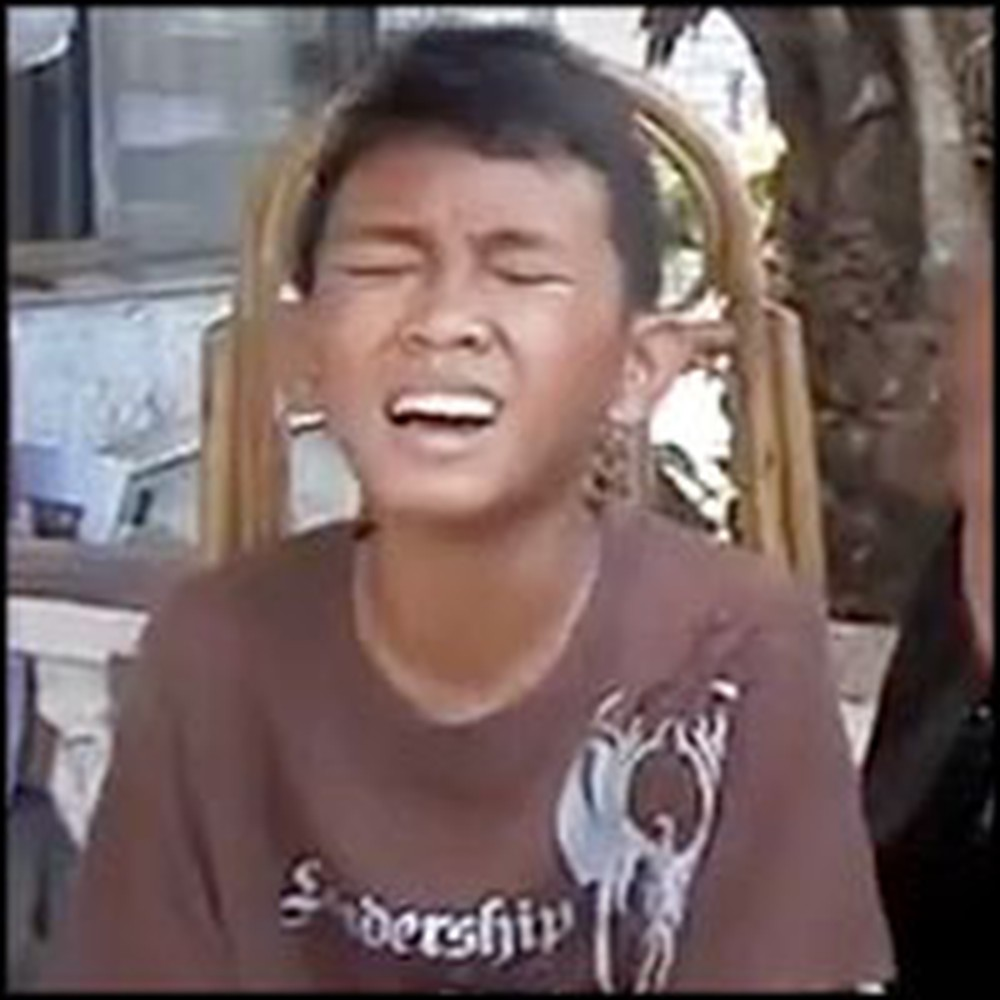 Little Filipino Boy Has a Voice You Will Not Believe