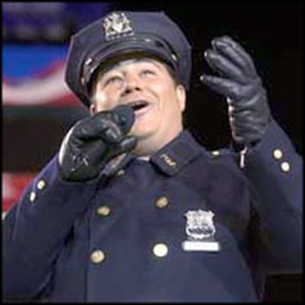 NYPD Officer Spared in the 9/11 Attacks Beautifully Sings God Bless America