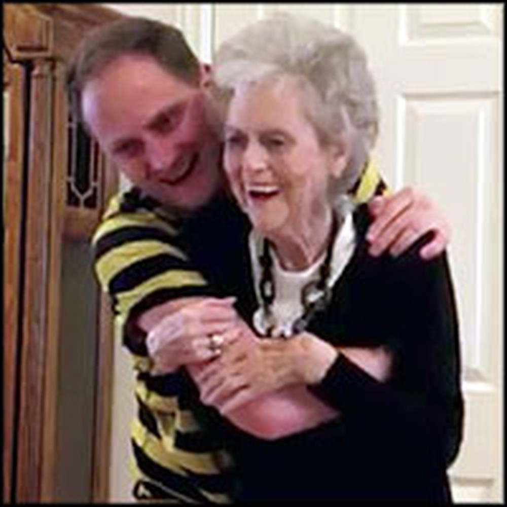 90 Year-Old Granny Celebrates Life by Dancing