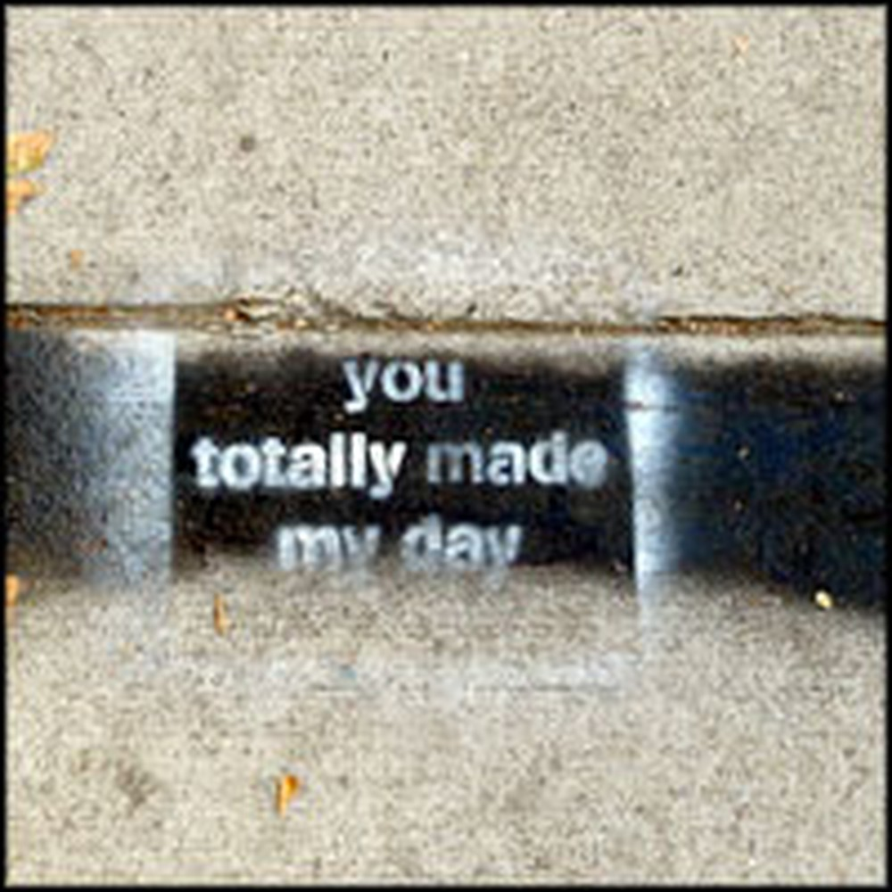 Heartwarming Graffiti Spotted in the Streets Will Make Your Day