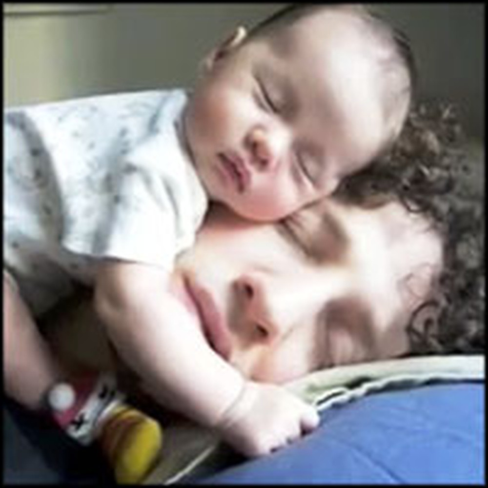 Precious Compilation of Daddies Snuggling With Their Babies