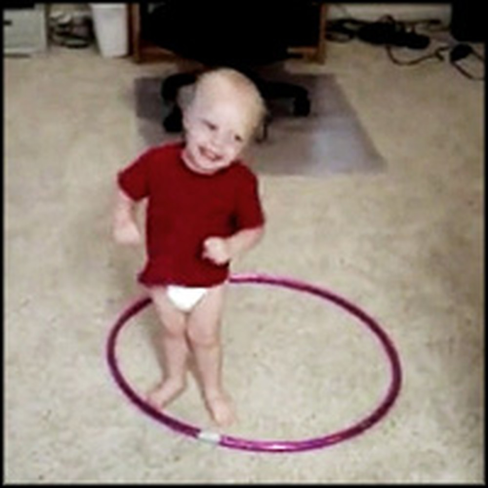 Hula Hooping Baby is Absolutely Hilarious