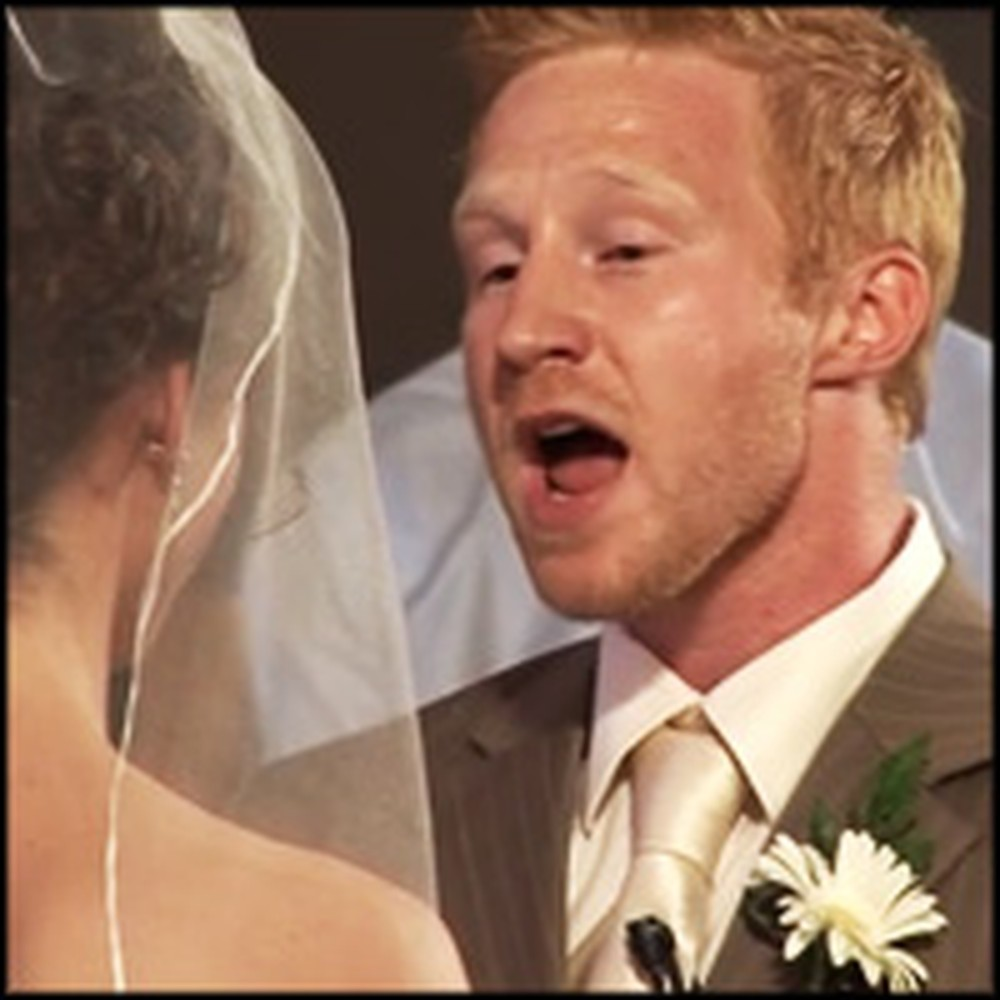 Groom Sings the Most Romantic & Beautiful Song to His Bride on the Altar