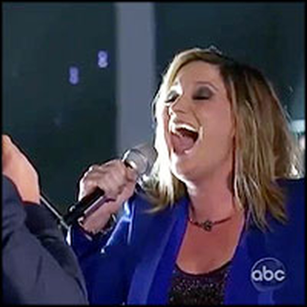 Sugarland Lead Singer & Amateur Sing The Prayer... So Powerful
