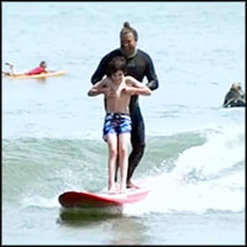 Pro Surfer Does the Most Incredible Thing for Autistic Children