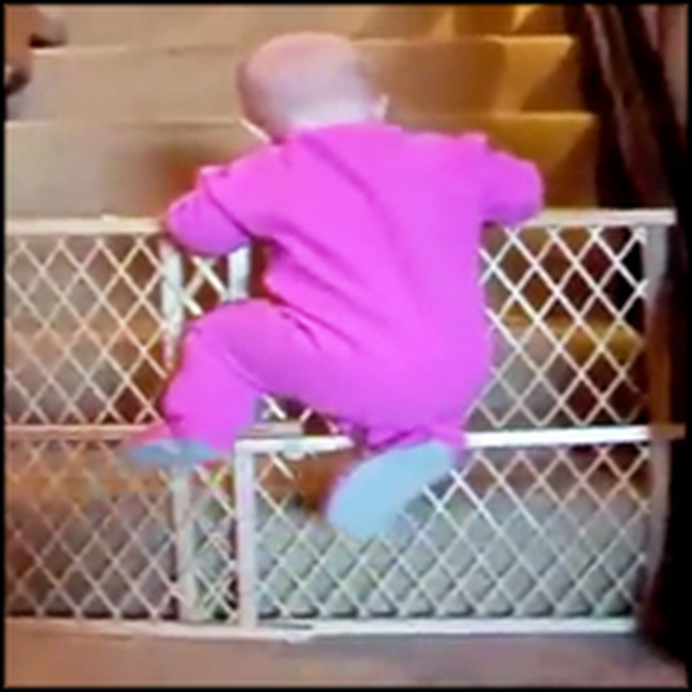 Genius Babies Escape Their Cribs in the Most Adorable Way