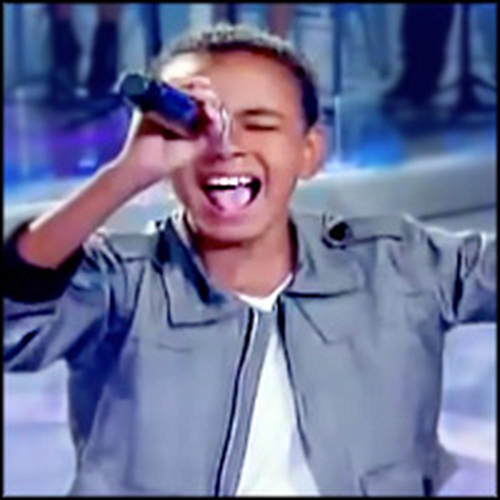 Child Singing Sensation's Unforgettable Performance of Agnus Dei...WOW!
