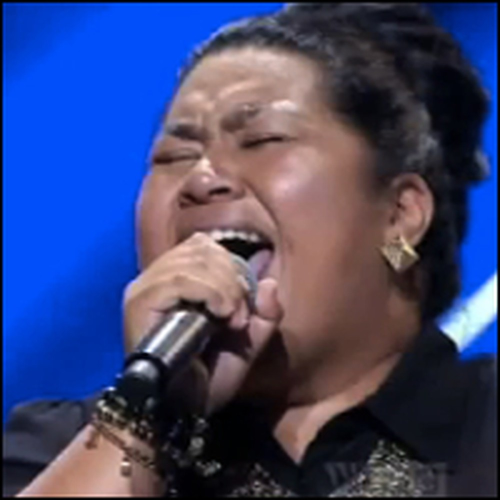 Shy Pastor's Daughter Takes Leap of Faith & Performs on the Big Stage