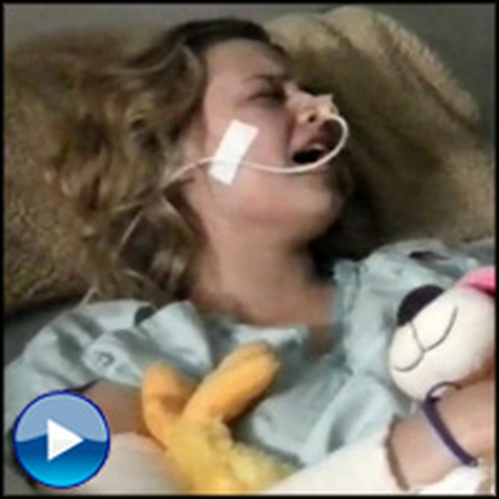 After Surviving Deadly Fall, a Paralyzed Girl Worships God in the Hospital