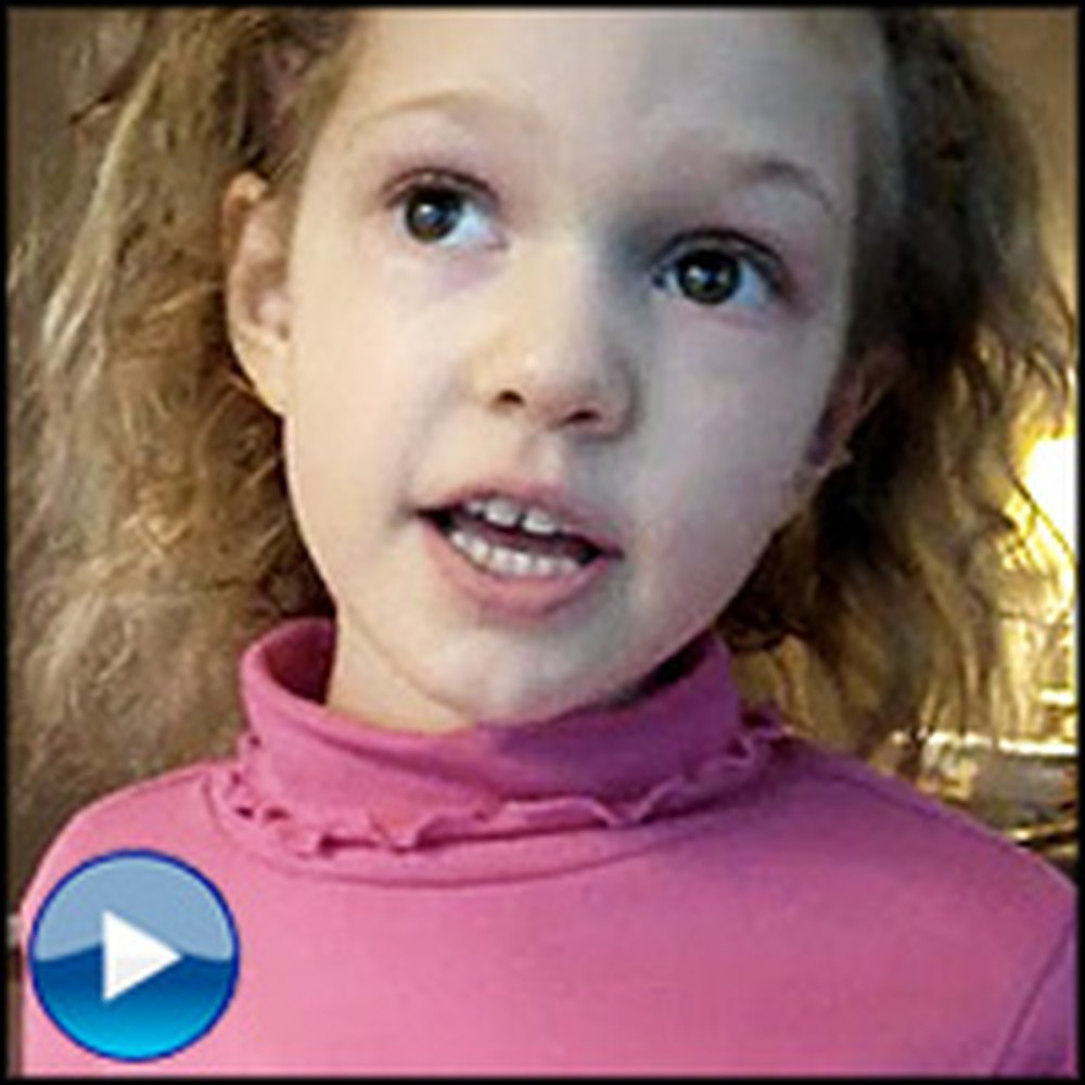 Sweet Angel Sings the Books of the Bible for Her Mommy