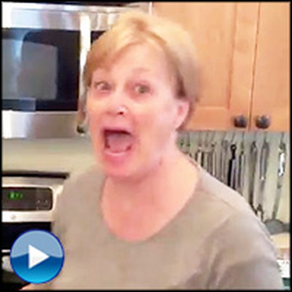 This Grandmother-To-Be's Reaction Will Make Your Day :)