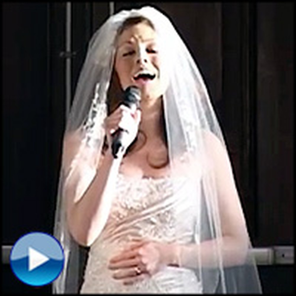 Fatherless Bride Does the Most Touching Thing at Her Wedding