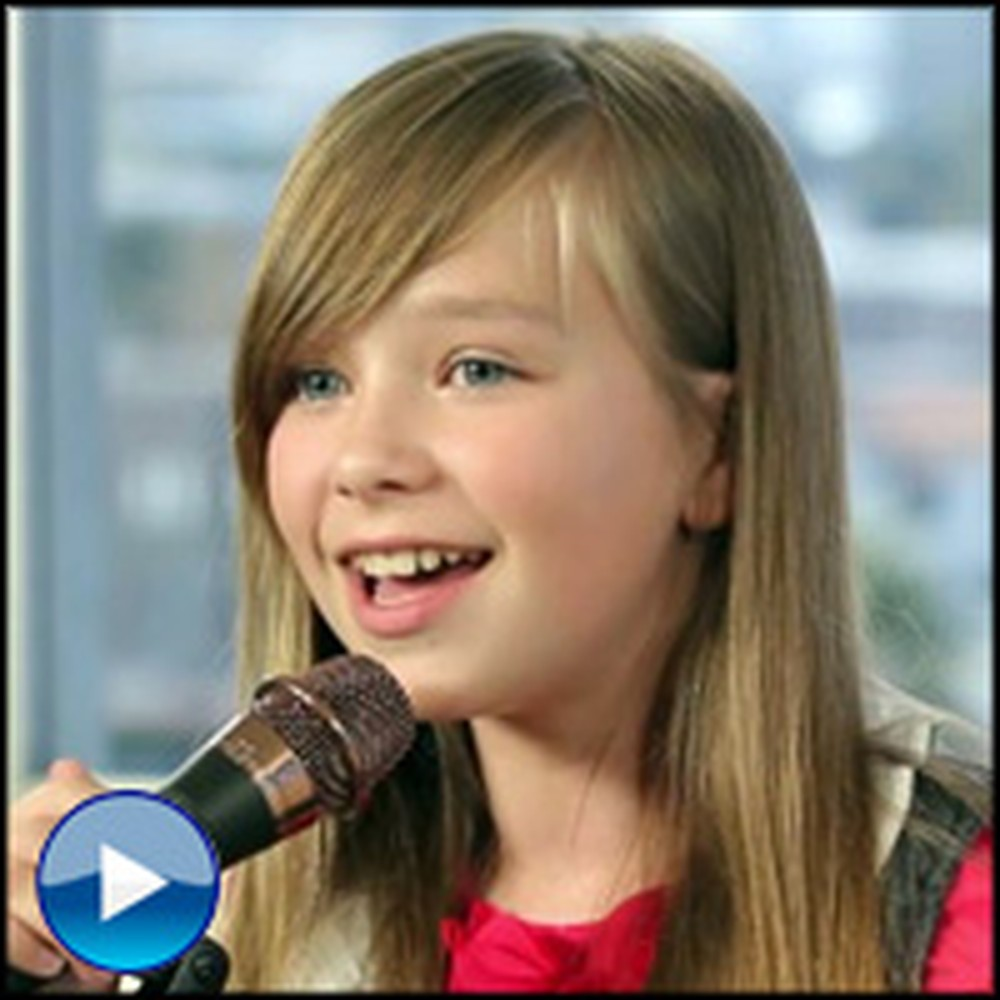 This Little Girl's Performance of Amazing Grace is So Good, It's Shocking