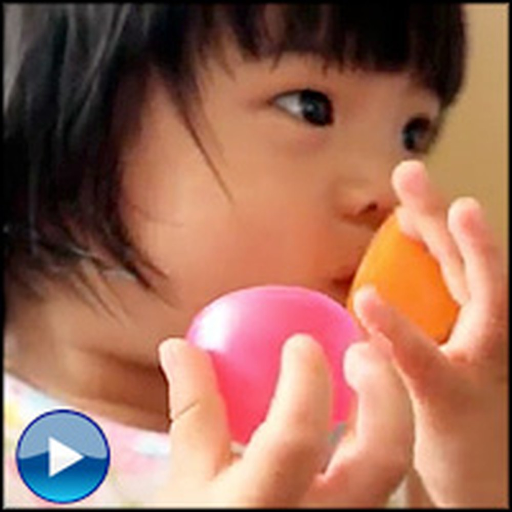 The Funniest Thing Stops This Baby From Crying... Cute!