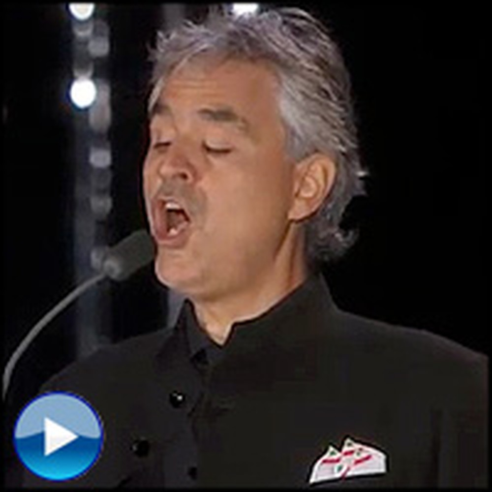 Andrea Bocelli Sings Ave Maria Like You've Never Heard Before