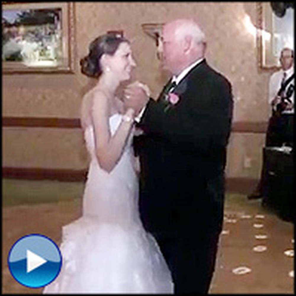 Father and Daughter Stun Wedding Guests With Surprise Dance - a History of Music!