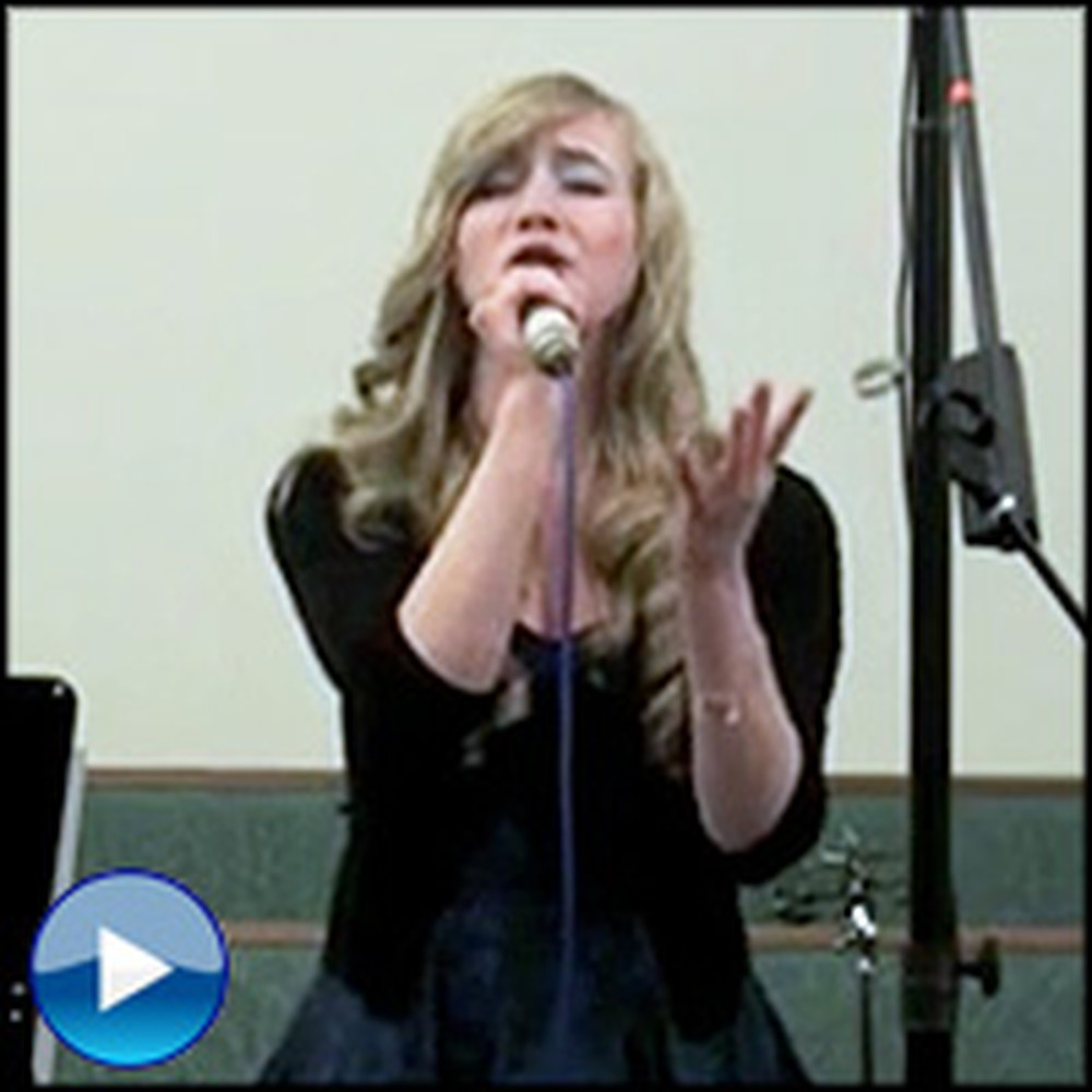 Two High School Students Sing a Song in Church That'll Wow You