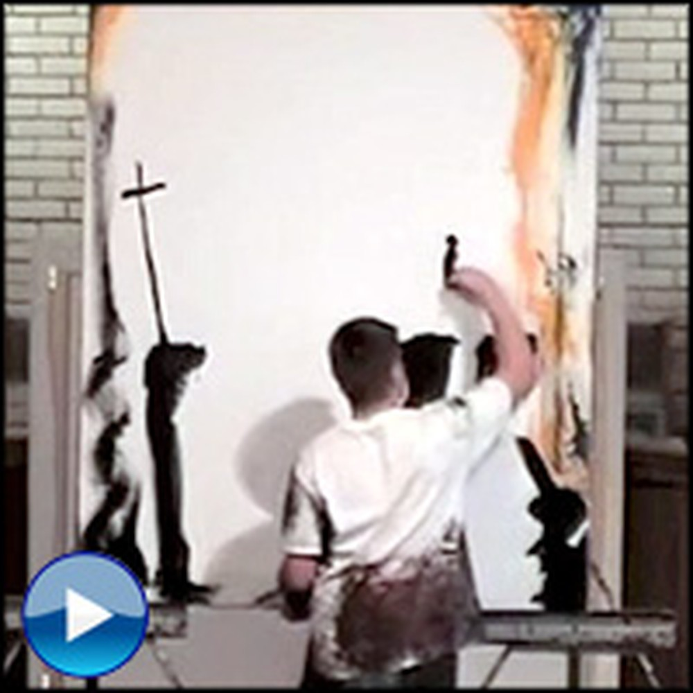 How This Man Creates a Holy Portrait Will Surprise You - Wow!