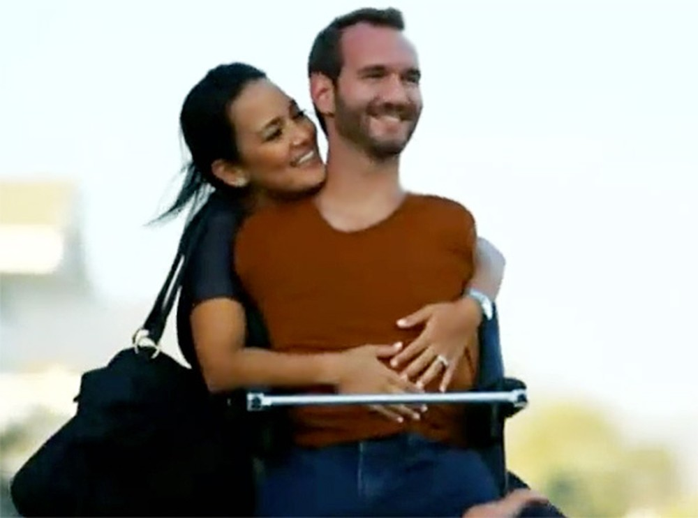 The Incredible Love Story of Nick Vujicic and His New Wife