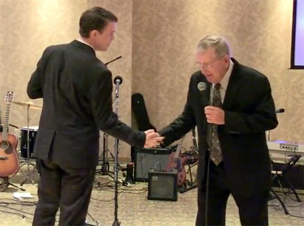 Grandpa & Grandson Perform the Sweetest Duet Together - It'll Melt Your Heart
