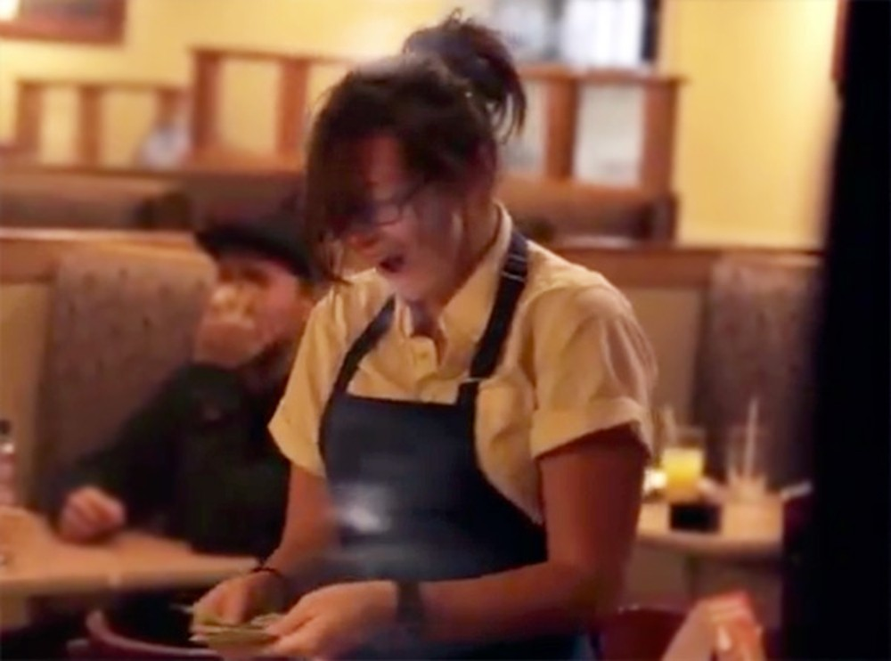 Three Servers Receive an Amazing Surprise They Never Saw Coming