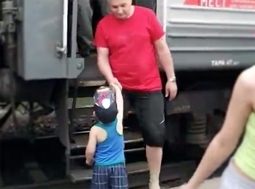 Polite Little Boy Loves Riding the Train for One Adorable Reason - Awww