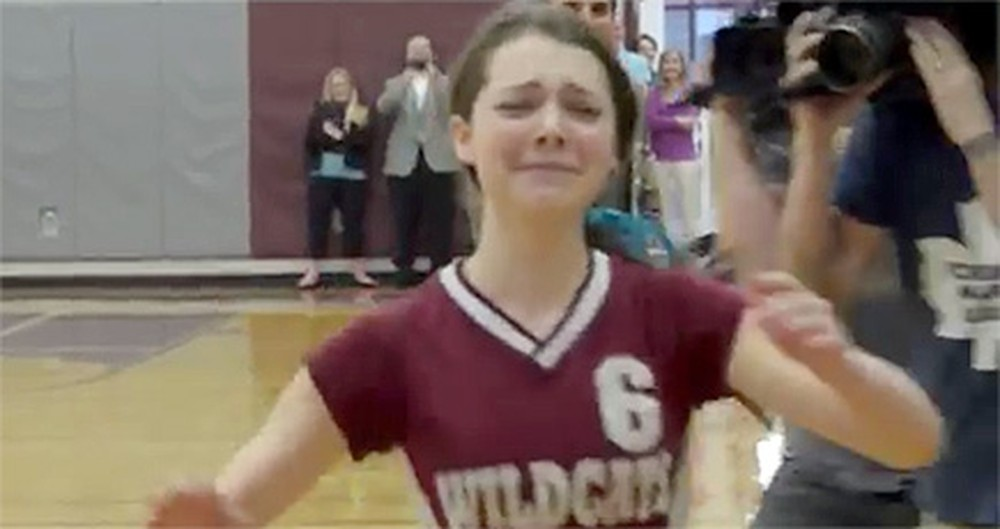 This Soldier Surprised Everyone During a School Assembly... and Got the BEST Reaction!