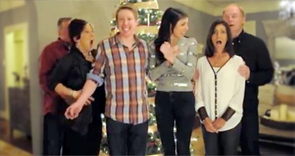 3... 2... 1... We're Pregnant! Watch this Adorable Pregnancy Surprise