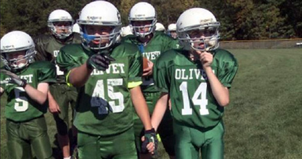 Young Boys Help Give a Special Needs Student Hope on the Field and in Life.