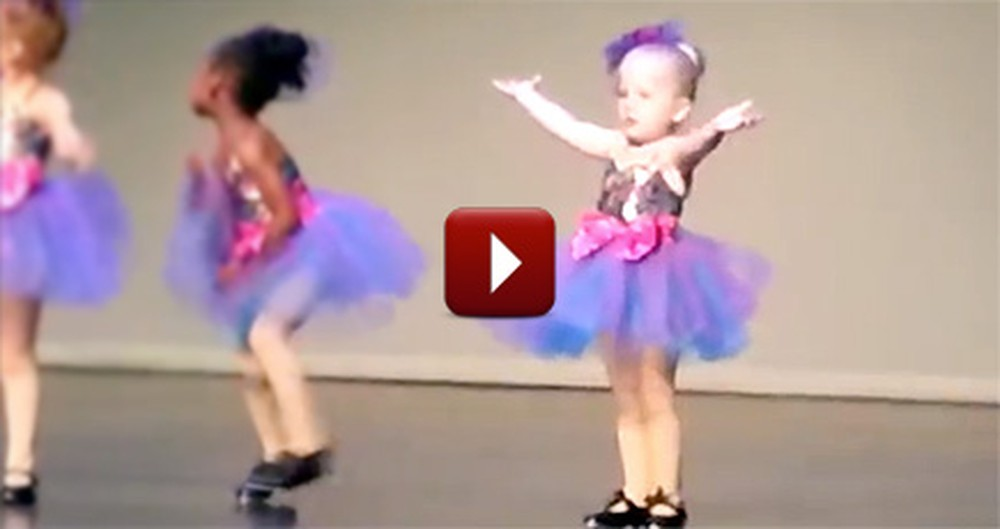 What This Lil' Ballerina Did Stole the Show - and Our Hearts. Aww