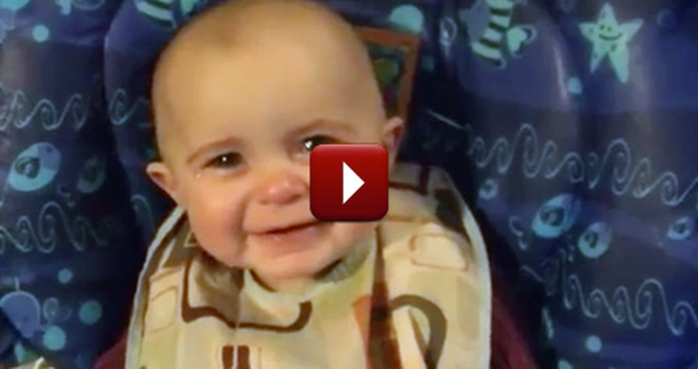 An Adorable Baby has an Epic Reaction to Her Mommy's Singing - Awww
