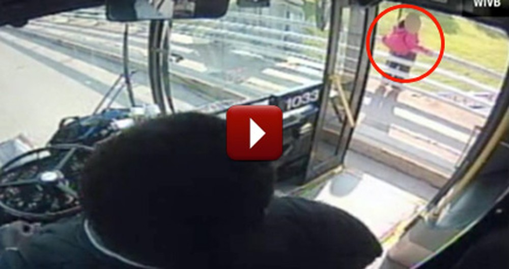 Bus Driver Guardian Angel Saves Woman From Jumping to Her Death