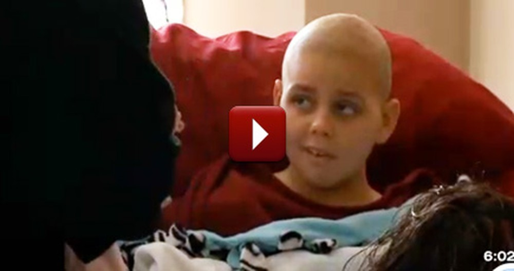 A Dying Boy's Community Did Something So Special for Him - It'll Make You Cry