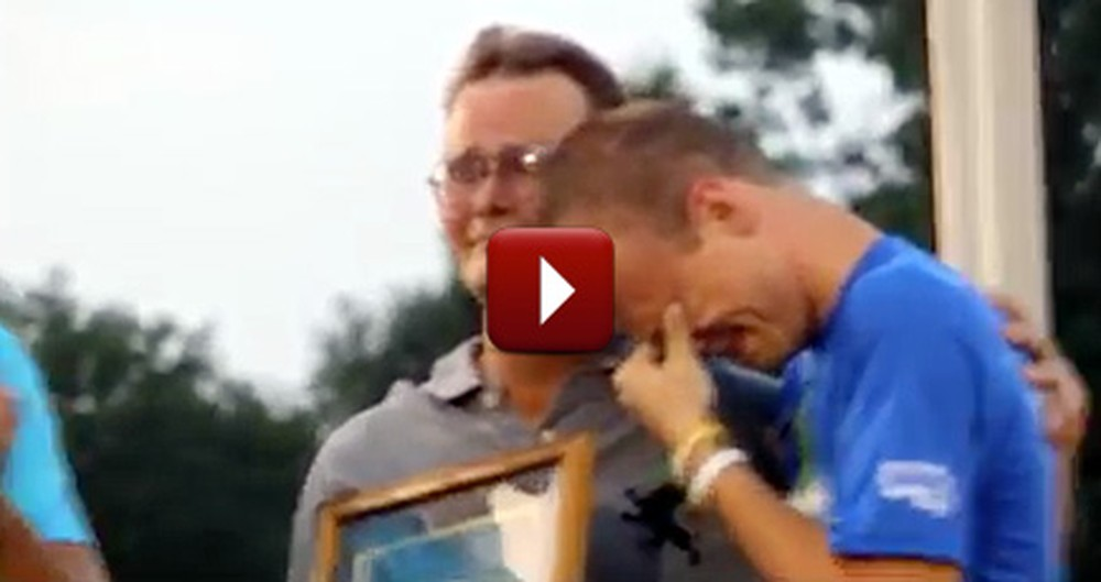 A Grown Man Was Reduced to Tears in Front of an Entire Town - a Magical Moment