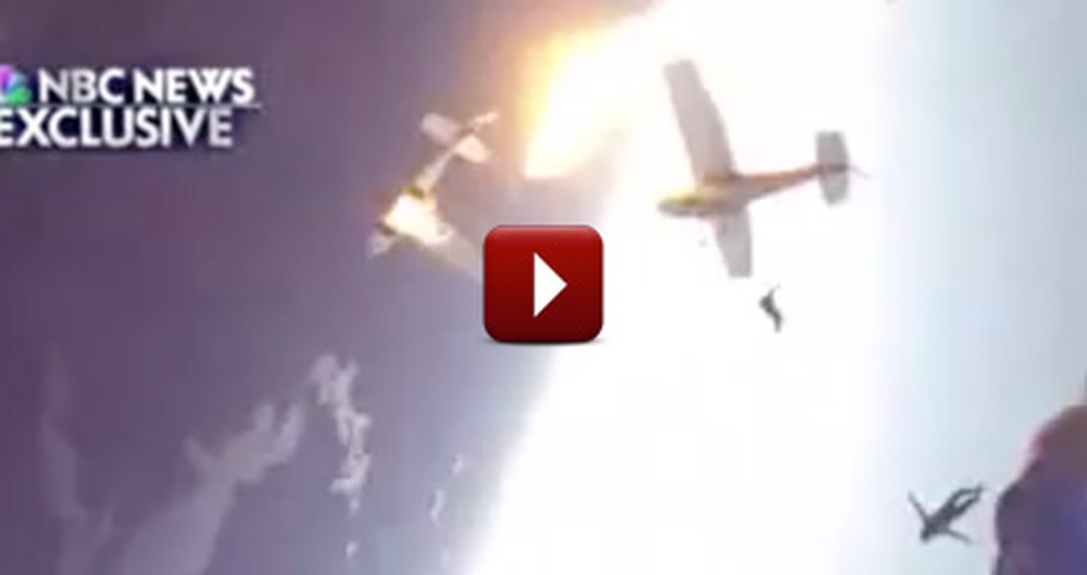 Two Planes Violently Crashed in Mid-Air... What Happened Next Was a MIRACLE!