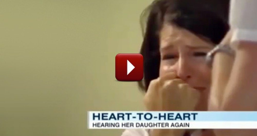 A Mother Gets to Hear the Heartbeat of Her 13 Year-Old Dead Daughter