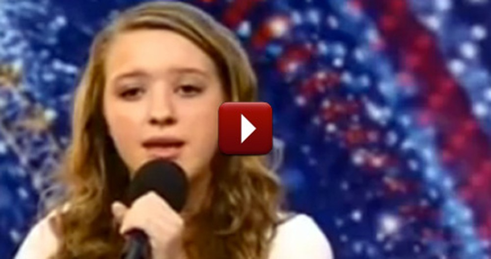 14-Year-Old Girl Beautifully Sings In the Arms of the Angel