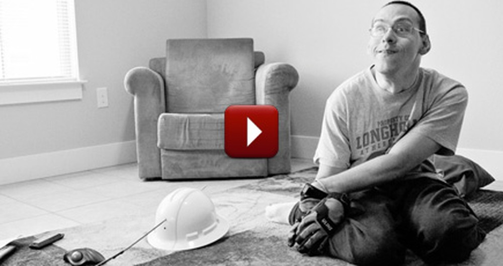 He Has Strength, Faith in Jesus and Cerebral Palsy - This Video Will Make You Cry.