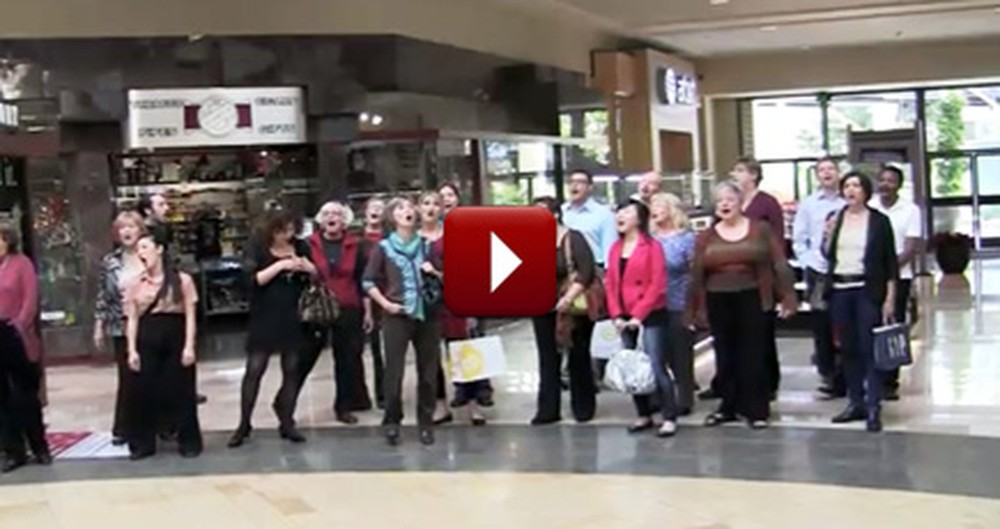 Surprise Gospel Choir Reminds Shoppers What's Important in Life