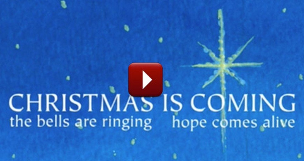 Christmas is Coming - a Touching Christian Song to Prepare for Our Lord
