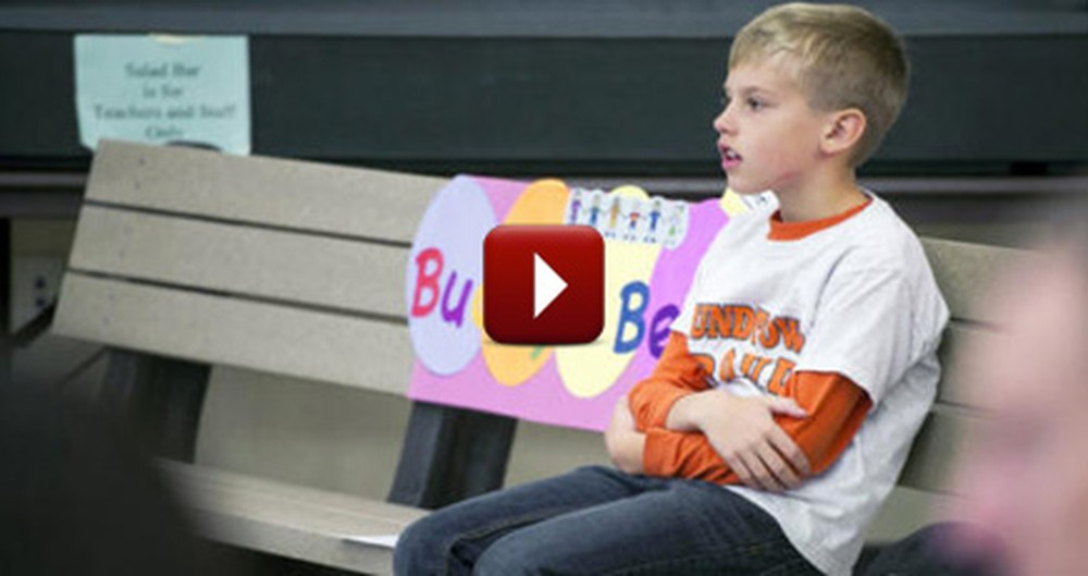 One Little Boy Didn't Want Other Children Feeling Lonely, So He Did This.