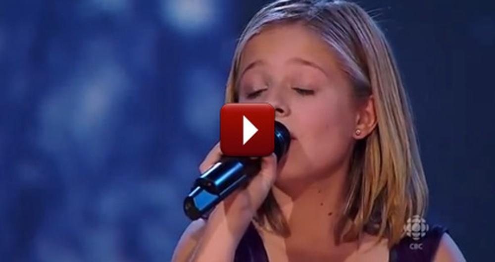 12 Year Old Singing Sensation's Stunning Christmas Performance