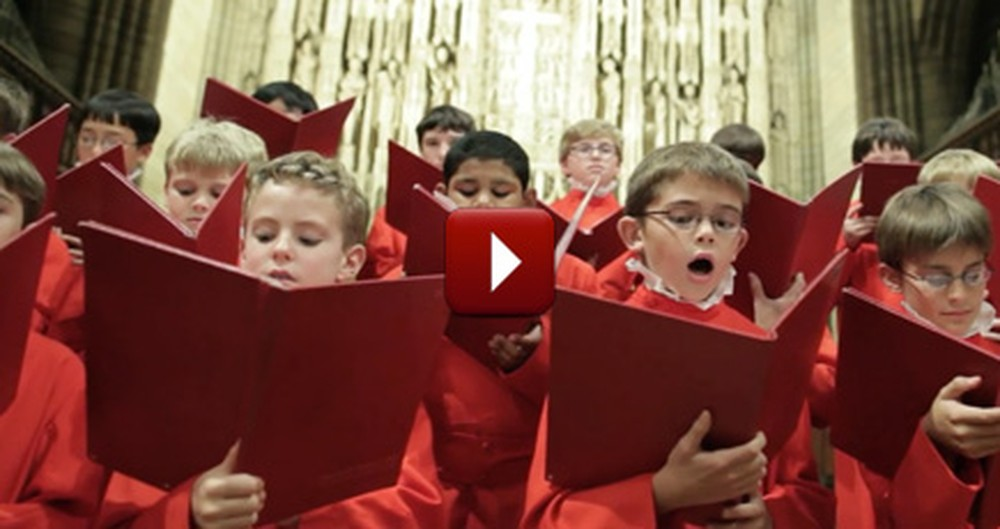 These Boys Have the Voices of Angels - a Truly Wonderful Performance